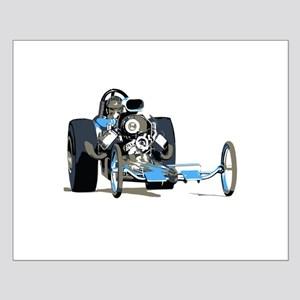 Vintage Top Fuel 1 Small Poster