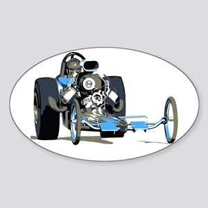 Vintage Top Fuel 1 Oval Sticker