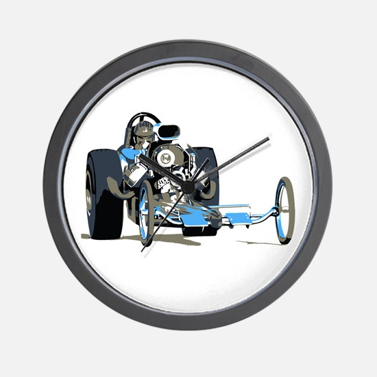 Vintage Top Fuel 1 Wall Clock