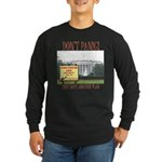 They Have Another Plan Long Sleeve Dark T-Shirt