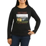 They Have Another Plan Women's Long Sleeve Dark T-