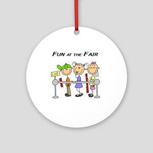 Fun at the Fair Ornament (Round)