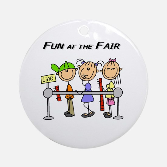 Fun at the Fair Ornament (Round)