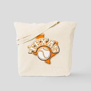 Texas Baseball Tote Bag