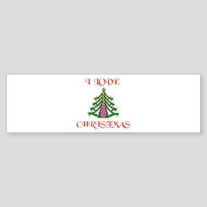 YEA CHRISTMAS ! Bumper Sticker