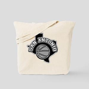 San Antonio Basketball Tote Bag