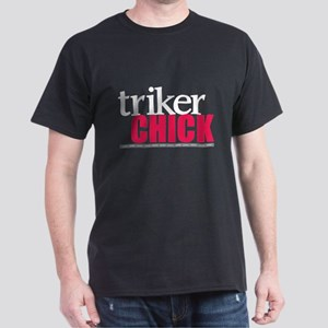 Triker Chick 1 Dark T-Shirt