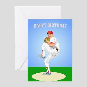Baseball, Guy's 'Perfect' - Birthday Card