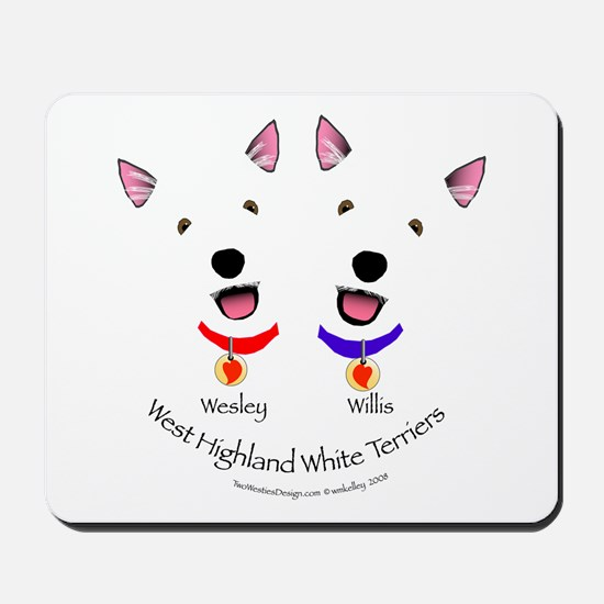 Custom - Wesley & Willis Mousepad