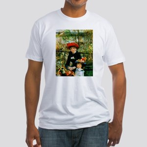 Renoir Two Sisters Fitted T-Shirt