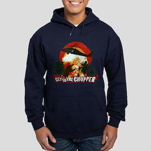 Get to the Chopper! Hoodie (dark)