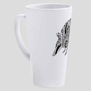 Armadillo 17 oz Latte Mug