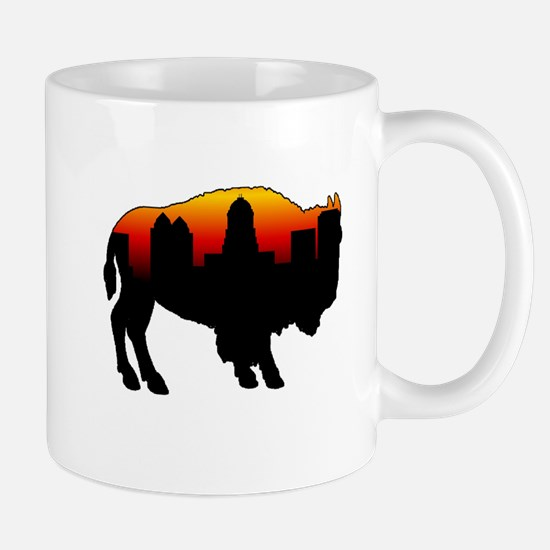 Sunset Skyline Mug