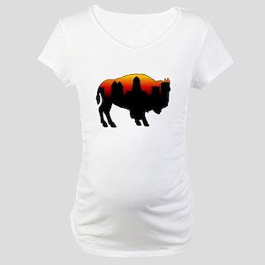 Sunset Skyline Maternity T-Shirt