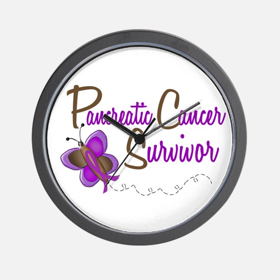 PC Survivor 1 Butterfly 2 Wall Clock