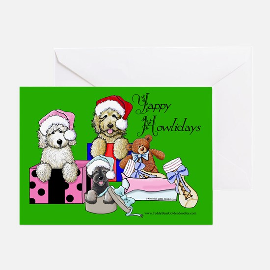 TBG & TBS Green Christmas Greeting Card