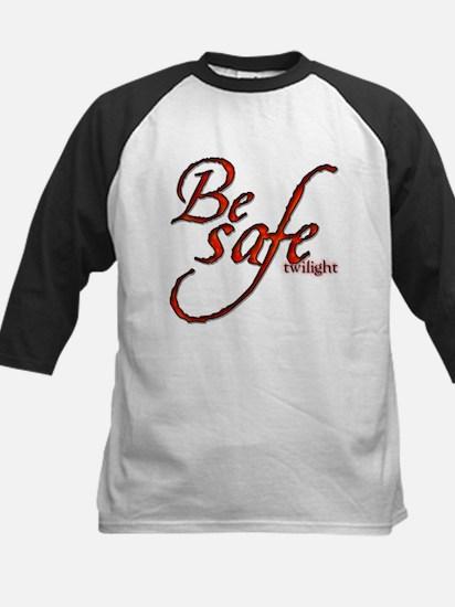 Twilight Movie's - Be Safe Qu Kids Baseball Jersey