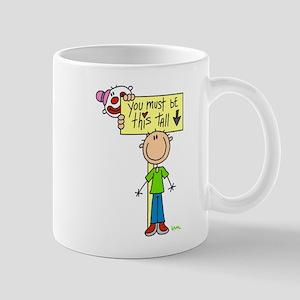 Must Be This Tall Mug