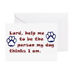 Dog Prayer Greeting Cards (Pk of 10)