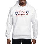 Dog Prayer Hooded Sweatshirt