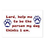 Dog Prayer Postcards (Package of 8)