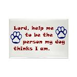 Dog Prayer Rectangle Magnet (10 pack)