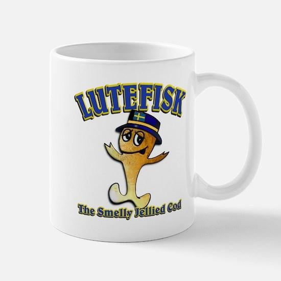 Lutefisk the dried codfish Mug