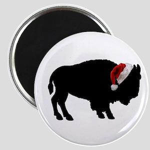 Buffalo Santa Magnet