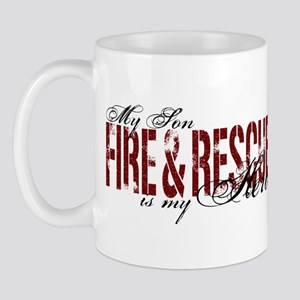 Son My Hero - Fire & Rescue Mug