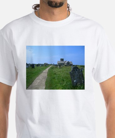 Tintagel White T-Shirt