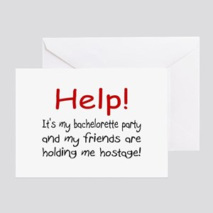Help! My Bachelor Party...Being Held Hostage Greet