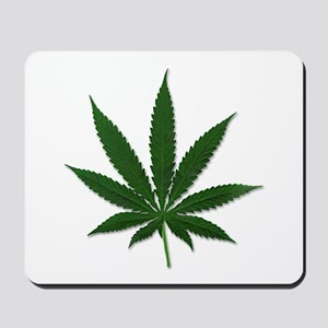 Marijuana Pot Leaf Mousepad