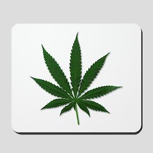Marijuana Pot Leaf Mousepad