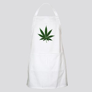 Marijuana Pot Leaf BBQ Apron