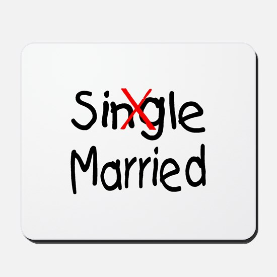 Married Mousepad