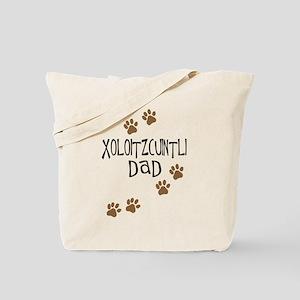 Xoloitzcuintli Dad Tote Bag