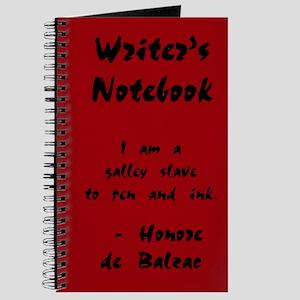 """Honore de Balzac"" - Writer's Notebook"