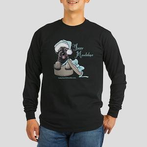 Schnoodle Howliday Long Sleeve Dark T-Shirt