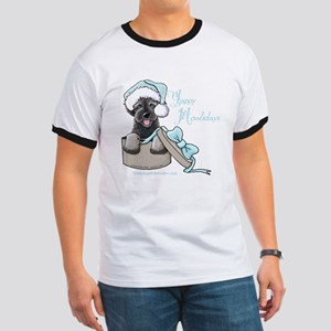 Schnoodle Howliday Ringer T