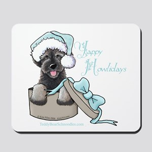 Schnoodle Howliday Mousepad