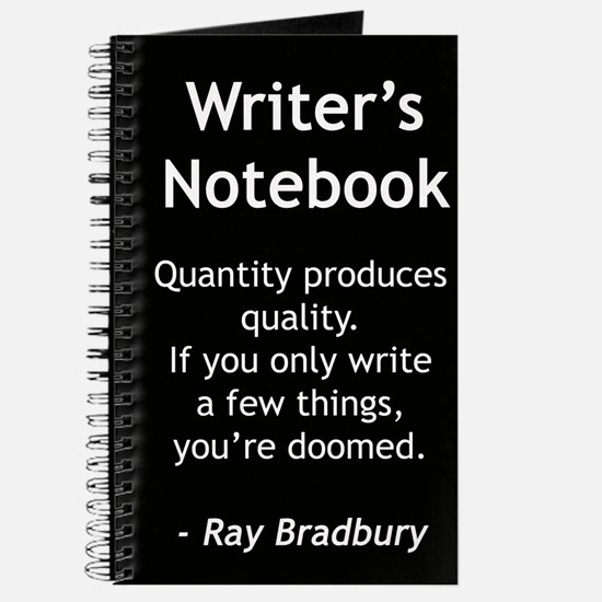 """Ray Bradbury I"" - Writer's Notebook"