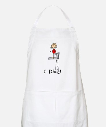 Girl I Dive Apron