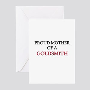 Proud Mother Of A GOLDSMITH Greeting Cards (Pk of