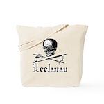 LeelanauPirate.Com - Old School Imagery Tote Bag