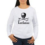 LeelanauPirate.Com - Old School Imagery Women's Lo