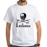 LeelanauPirate.Com - Old School Imagery White T-Sh