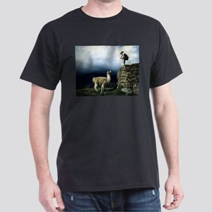 Llama Encounter Dark T-Shirt