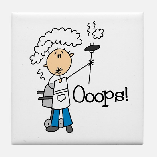 Barbeque Disaster Tile Coaster