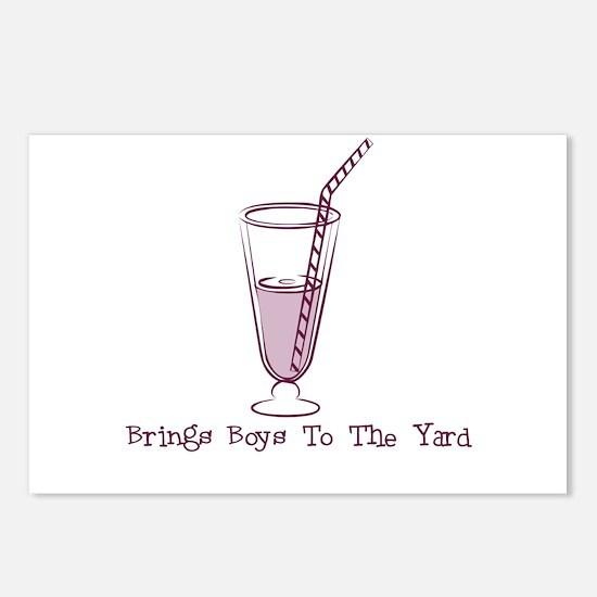 Riyah-Li Designs Milkshake Postcards (Package of 8