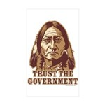 Government Rectangle Sticker 10 pk)